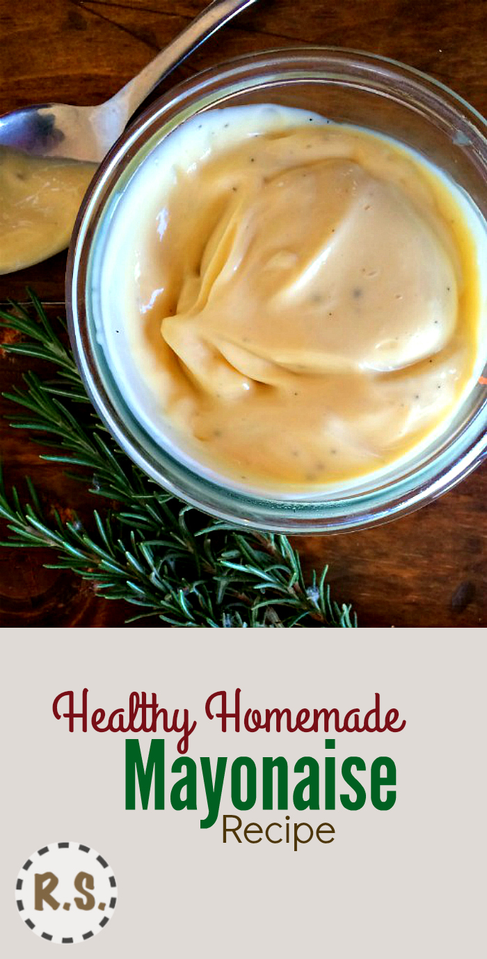 This is the best mayonnaise recipe! With its amazing texture and flavor, this may be the recipe you'er looking for!