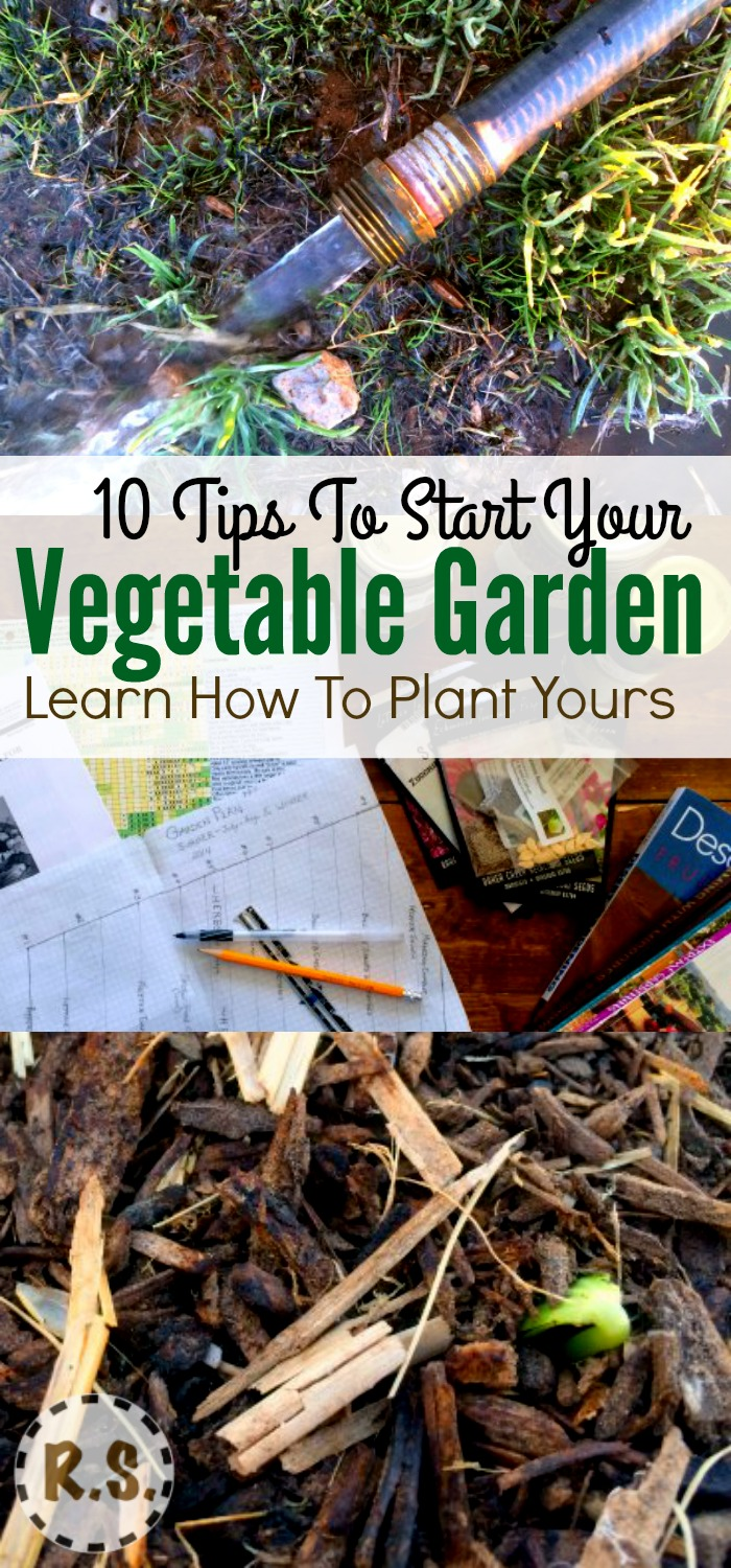 A lot goes into vegetable garden planting. Here is a list of the top 10 most important things you need to get started in your garden. :)