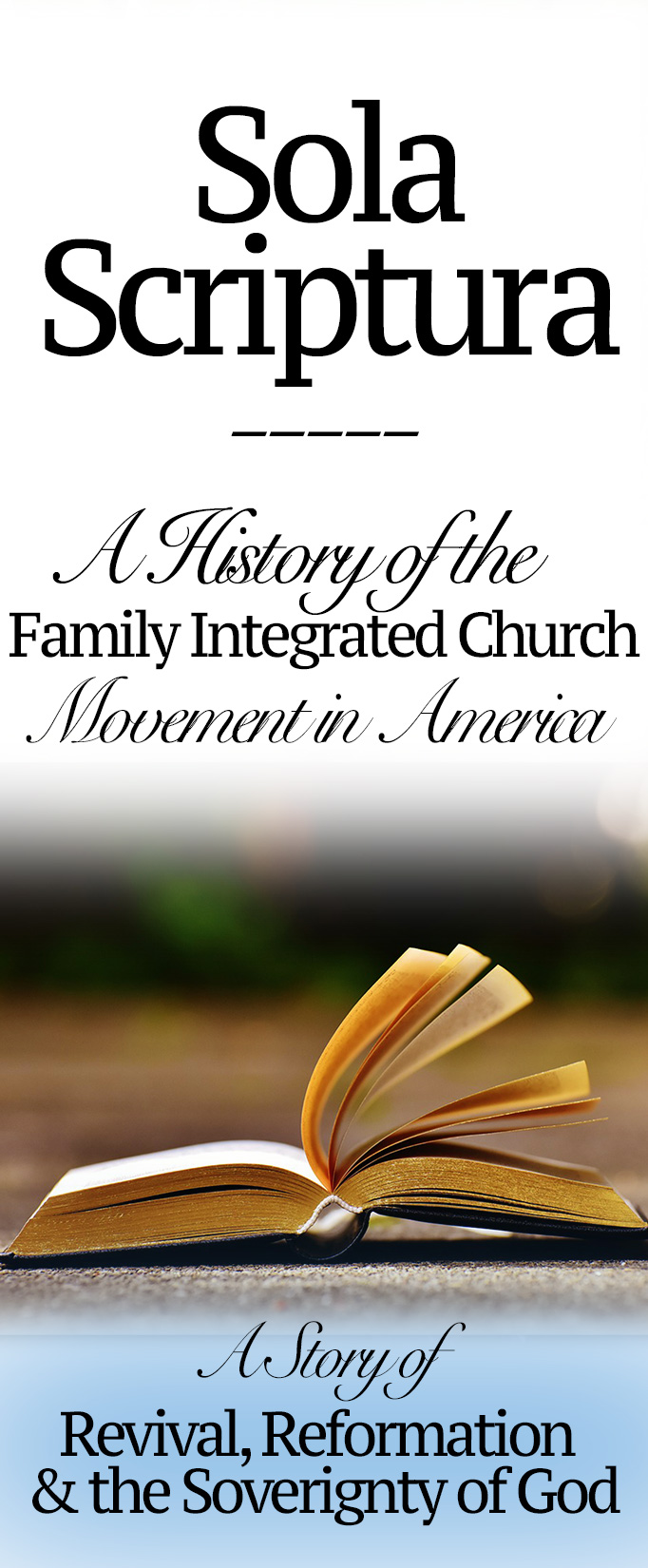In about 2000, families started practically following the patterns laid out in the Bible in their families and churches. Thus was birthed the family integrated churches! Here's that history…