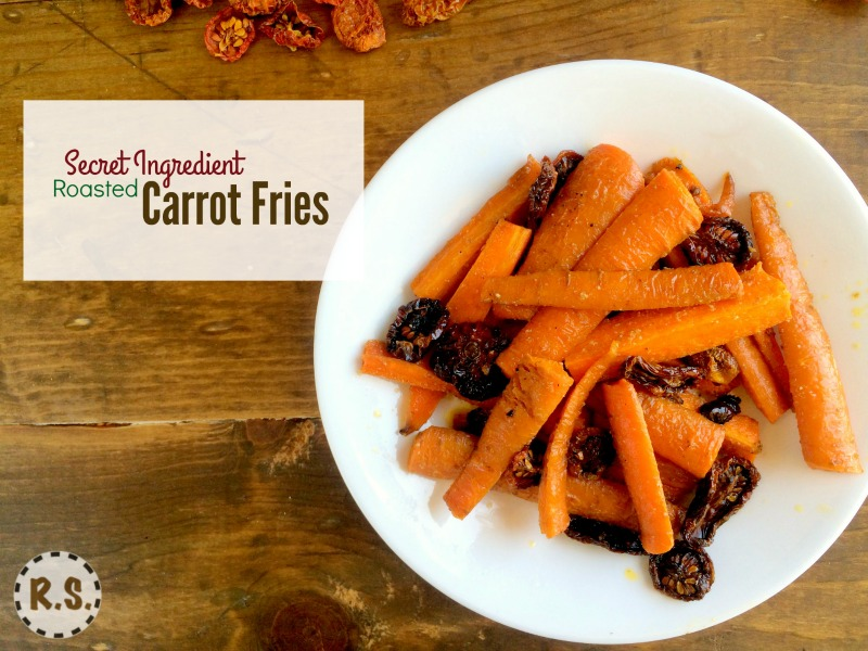 Great for the cook who has a time limit, and for your family who will love them. After one try, roasted carrot fries are bound to be your family's favorite. And these have a secret ingredient.