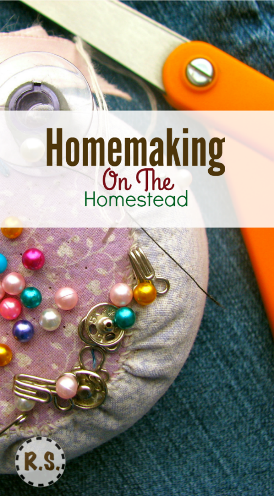 How do we gain so much pleasure from homemaking? It consists of so many things! There are so many things to do around the house.